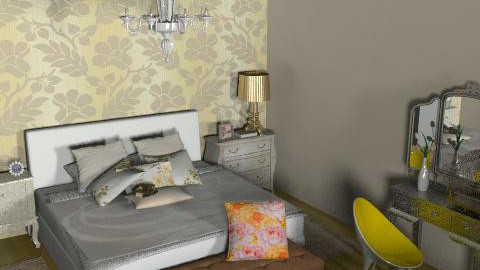 bedroom chic 2 - Glamour - Bedroom  - by simplydesign