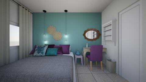 MeravAssaf bedroom - by meravdy