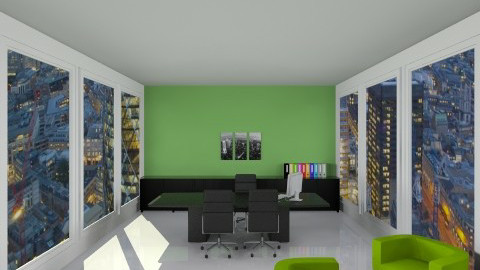 The Big Boss - Modern - Office  - by jammytania