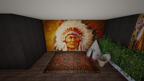 Native Culture - Rustic - by leondelagrange1
