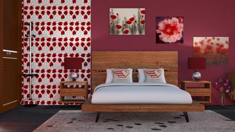 Poppy - Living room  - by snjeskasmjeska