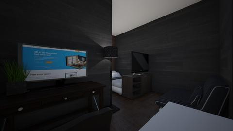 Office Bedroom - Minimal - Bedroom  - by AnqeIPLANNER