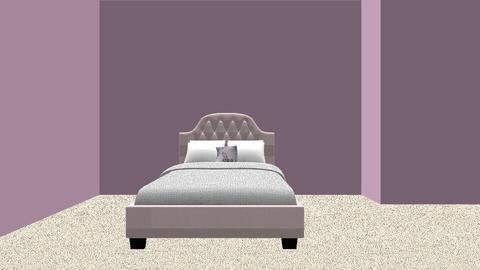 In the beginning - Bedroom - by Megaroni
