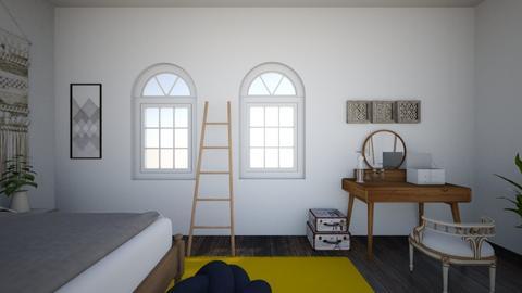 Mels Room - Rustic - Bedroom  - by mcmanusmelodie5