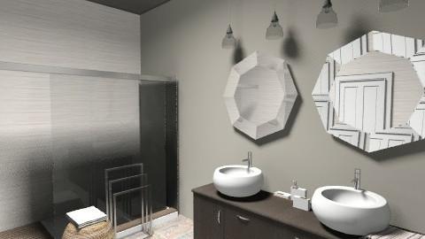 Taupe Bathroom  - Bathroom  - by carolinafer