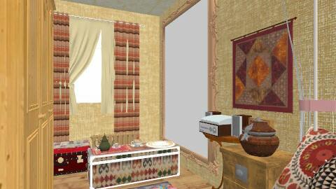 1001 nights - Vintage - Bedroom  - by Pink_Panther