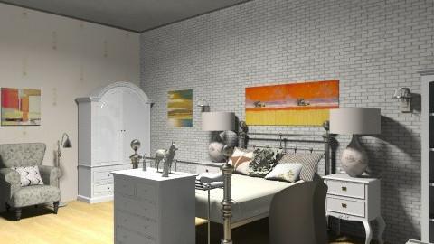 Classical Guest Room - Classic - Bedroom  - by DiamondJ569