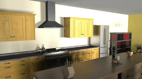 Pad - Eclectic - Kitchen  - by mtagliavia