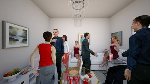 living room party - Living room  - by Elaine_the_bold