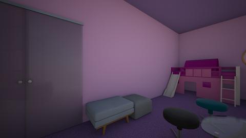 Little girls bedroom - Kids room  - by Jellybean2020