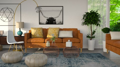 MG_WE33 - Eclectic - Living room  - by mathijsg