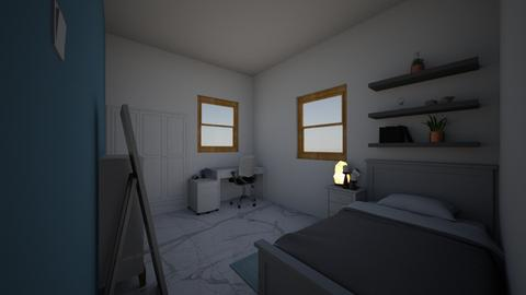 my room  - Minimal - Bedroom  - by simone7vargas