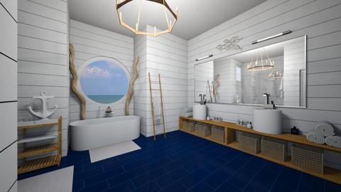 Nautical Bathroom - Bathroom  - by AYessenia