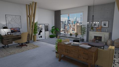 Merino - Living room  - by LillMiaaa