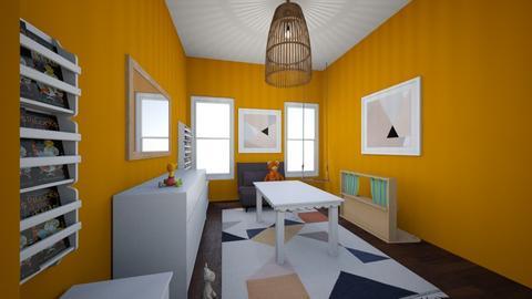 Dahlia Rae - Kids room  - by deannaduba