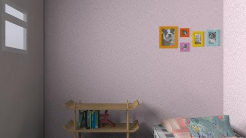 Lizzie's bedroom - Bedroom - by FN27622