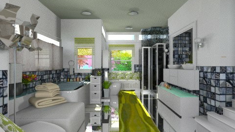 Basement Bathroom Bibiche - Modern - Bathroom  - by j_sm