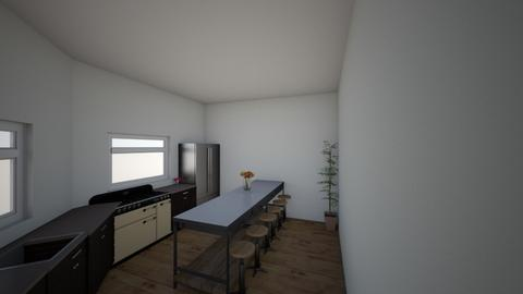 Pop poop kitchen it sucks - Modern - Kitchen  - by PoppsterWopster1235