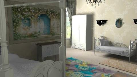 vintage<3 - Vintage - Bedroom  - by chelseajade