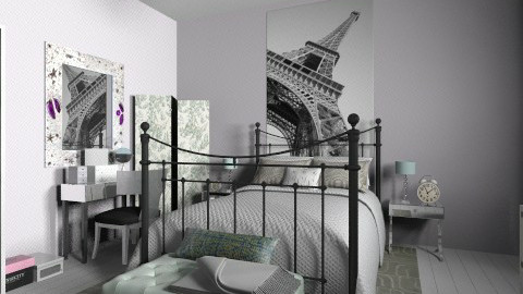 br - Eclectic - Bedroom  - by martinabb