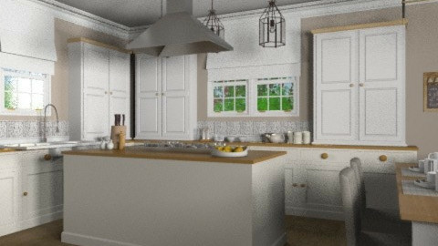 Light and Sweet - Kitchen  - by jenshadow_222