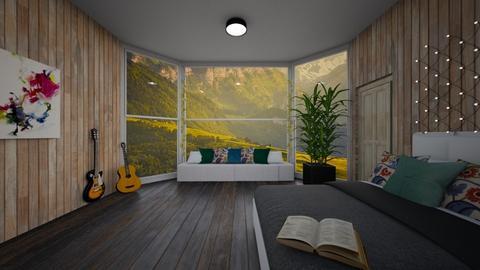 Cabin Bedroom remix - Bedroom  - by Doraisthe_nameofmydoggo12345