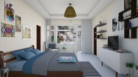 Bedroom redesign - Modern - Bedroom  - by fifi sefriyani