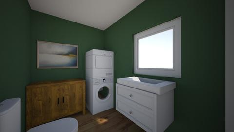 Laundry two piece - Bathroom  - by abrick01