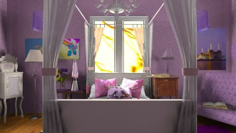 pretty room  - Kids room  - by The Beane Designer