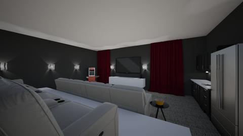 Movie Room - Classic - by Mari Lara_978