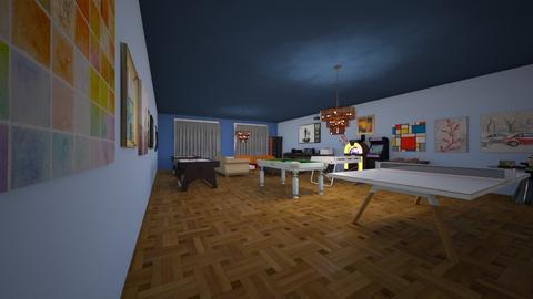 Game Room  - Modern - by Ravina_9069