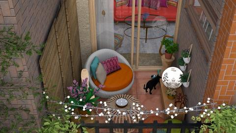 another tiny cali patio  - by Teri Dawn