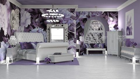 ROMANTIC LILIAC - Feminine - Kids room  - by RS Designs