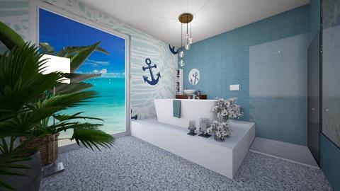 ocean  - Modern - Bathroom  - by monek299