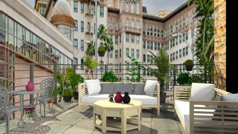 Balcony - Minimal - Garden  - by oliricescarraman