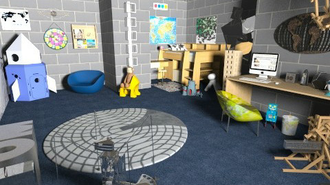 Wow Boy - Kids room  - by 80monkey