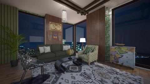 Traveler chill - Modern - Living room  - by BlackOrchidea