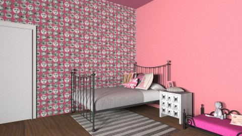 young room - Modern - Bedroom - by user_3019953