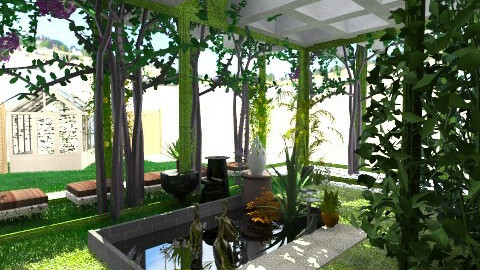 A Shady Arbour - Modern - Garden  - by nonehpets