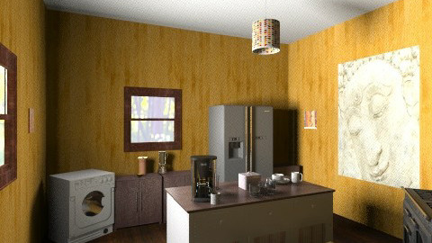 Cabana dos sonhos - Rustic - Kitchen  - by user_1115962