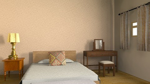 b1c - Vintage - Bedroom  - by noorshilla