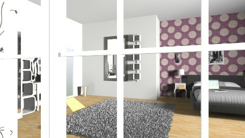 express gg - Glamour - Bedroom - by Laure Cerdor