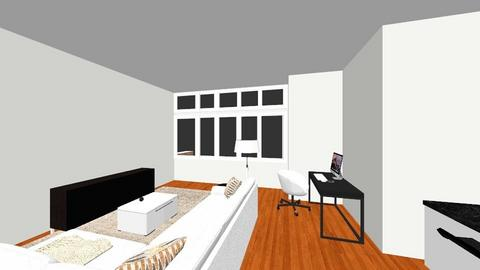 Danica Apartment BR Q - Living room  - by J Designs Space