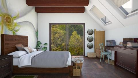 Simple Bedroom - Bedroom - by ilikalle
