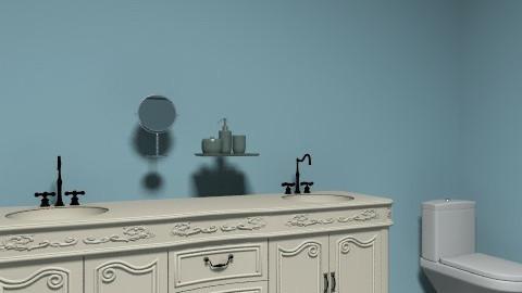 Vähän kesken - Glamour - Bathroom  - by KINSTON