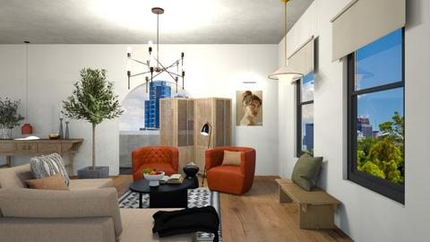 New Vision_ Apartment - Minimal - Living room  - by milk07Designs