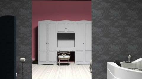 Parvati's Bathroom and Closet - Glamour - Bathroom  - by colleenod25