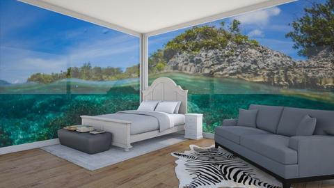 underwater bedroom - Modern - Bedroom  - by rhod365