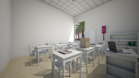Elementary Class - Modern - Office - by CeeCee_