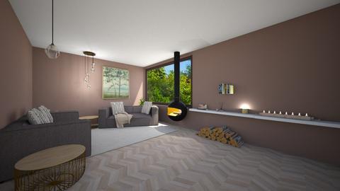 Lux Wood Cabin - Living room  - by theIrishdog
